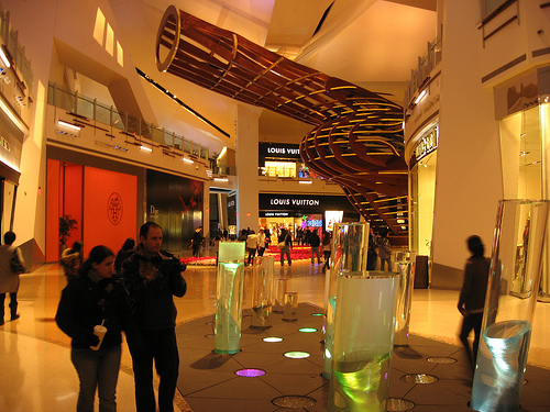 Ultra expensive Crystal Shops at CityCenter, Las Vegas