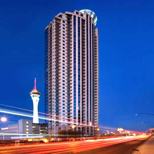 Allure Condo Tower is located near Sahara Ave and Las Vegas Strip