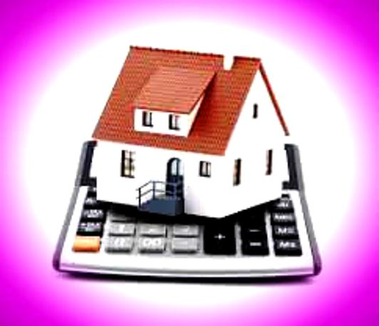 Image of home sitting on top of a calculator to signify financing mortgage for Las Vegas homes, condos, high-rise