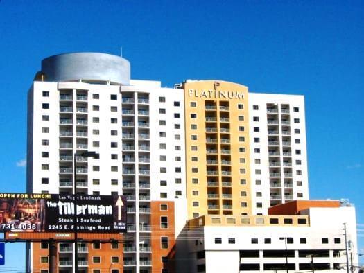 Platinum Condo Hotel Tower in Las Vegas