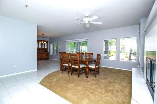 Living room of Garden Terrace condo for sale in Summerlin