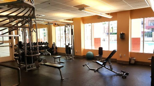 Park Avenue Condos fitness center