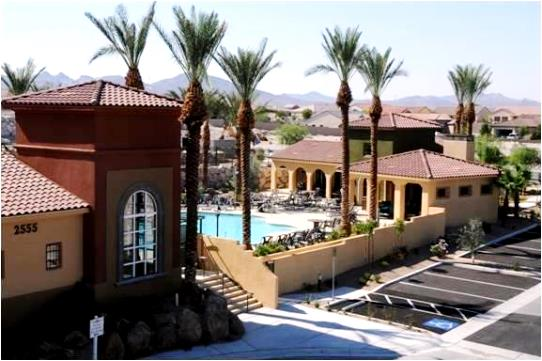 Full resort amenities at Terra Bella condos for sale in Henderson