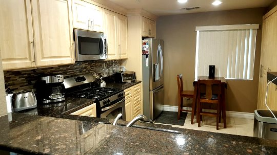 Upgraded kitchen in Meridian condos for sale in Las Vegas